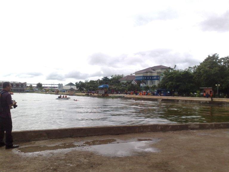 Danau Buatan Maros Tempat Simulasi