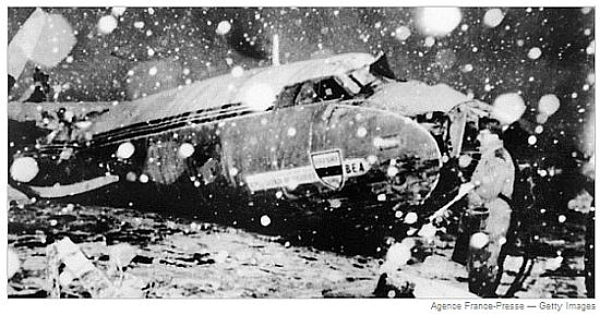 pesawat MU yang jatuh 1958