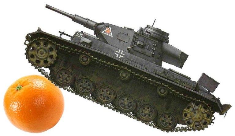 Panzer Libas Oranje