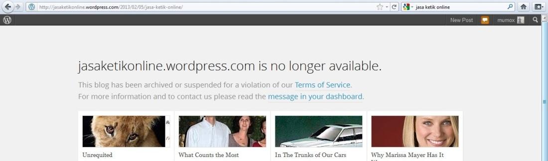 banned wordpress 2