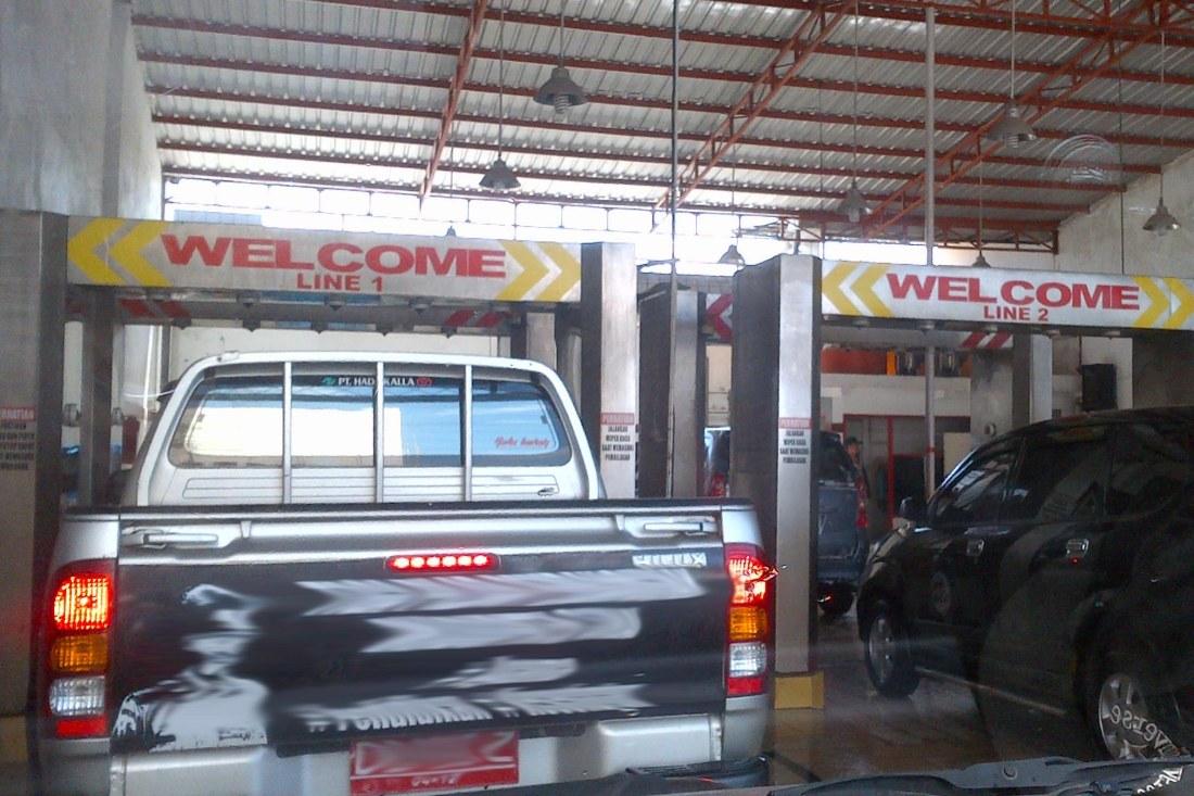 Cuci Mobil Dinas