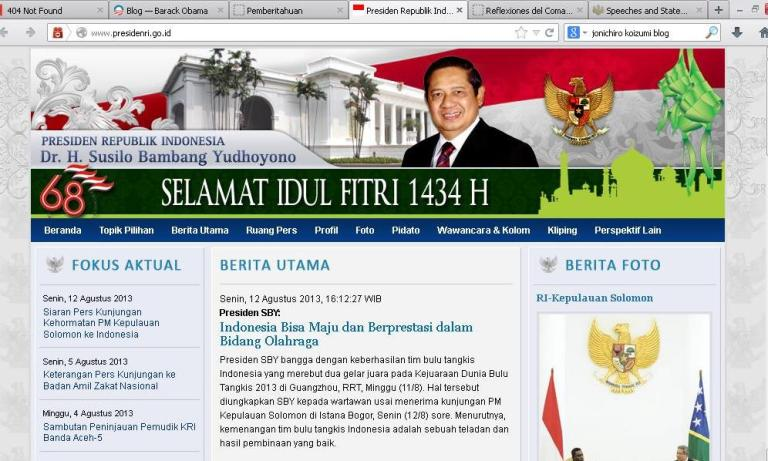 Presiden GoBlog