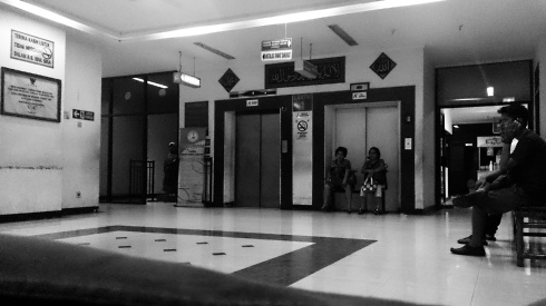 Lobby RS Ibnu Sina