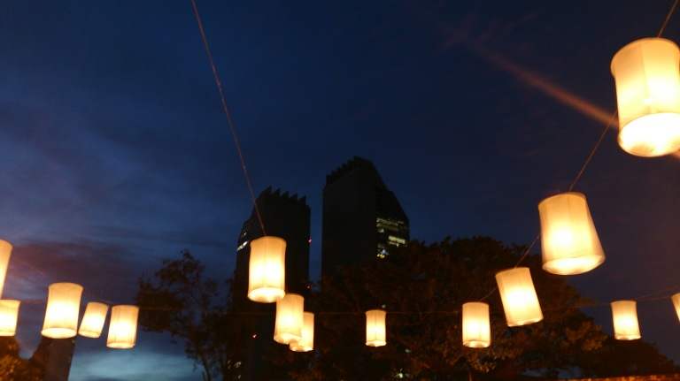 Nightime Lampion