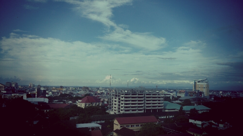 Makassar from the top